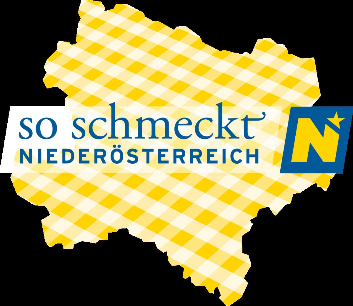 So schmeckt Niederösterreich - Logo